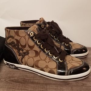 COACH Brendle High Top Sneakers